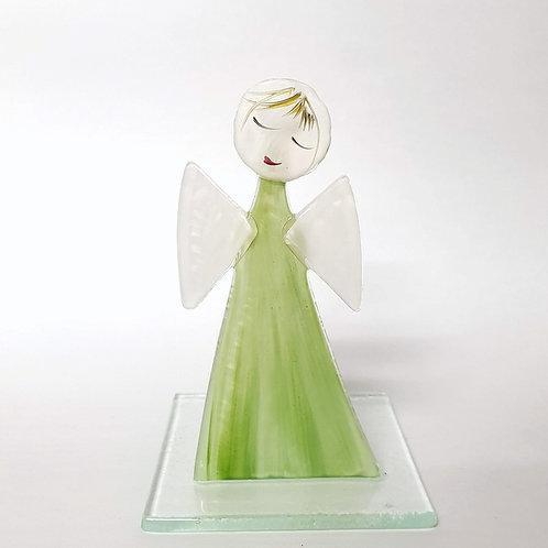 Aniołek malowany tealight