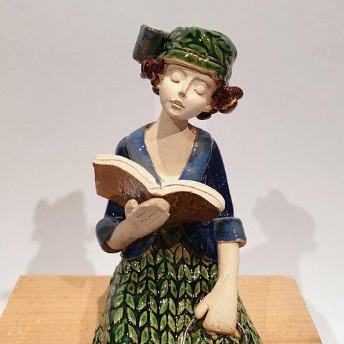 Dama z książką