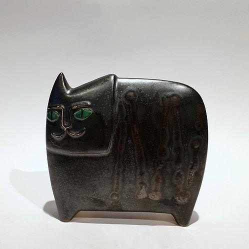 Kot egipski średni czarny