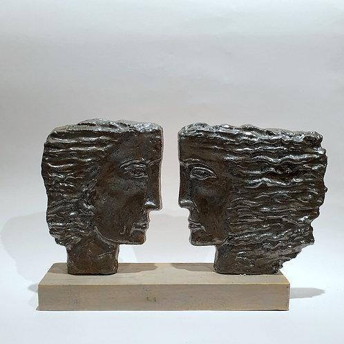 Rzeźba ceramiczna - głowy