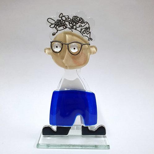 Polpol Fred - niebieskie spodnie