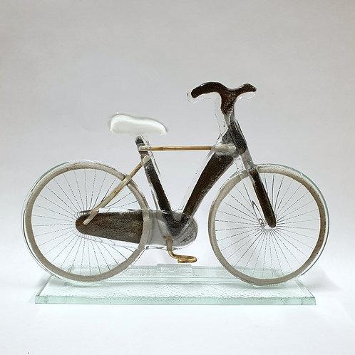 Rower męski - białe siodełko