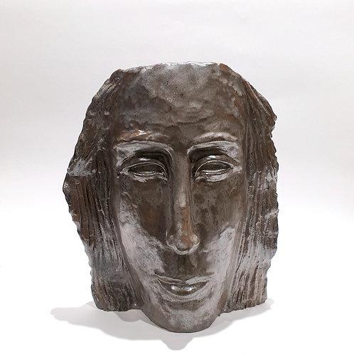 Rzeźba ceramiczna -twarz