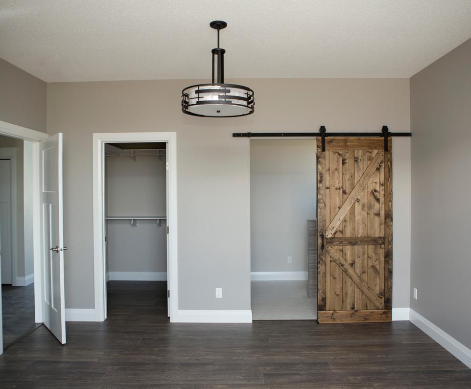 Ensuite with Custom Barn Door