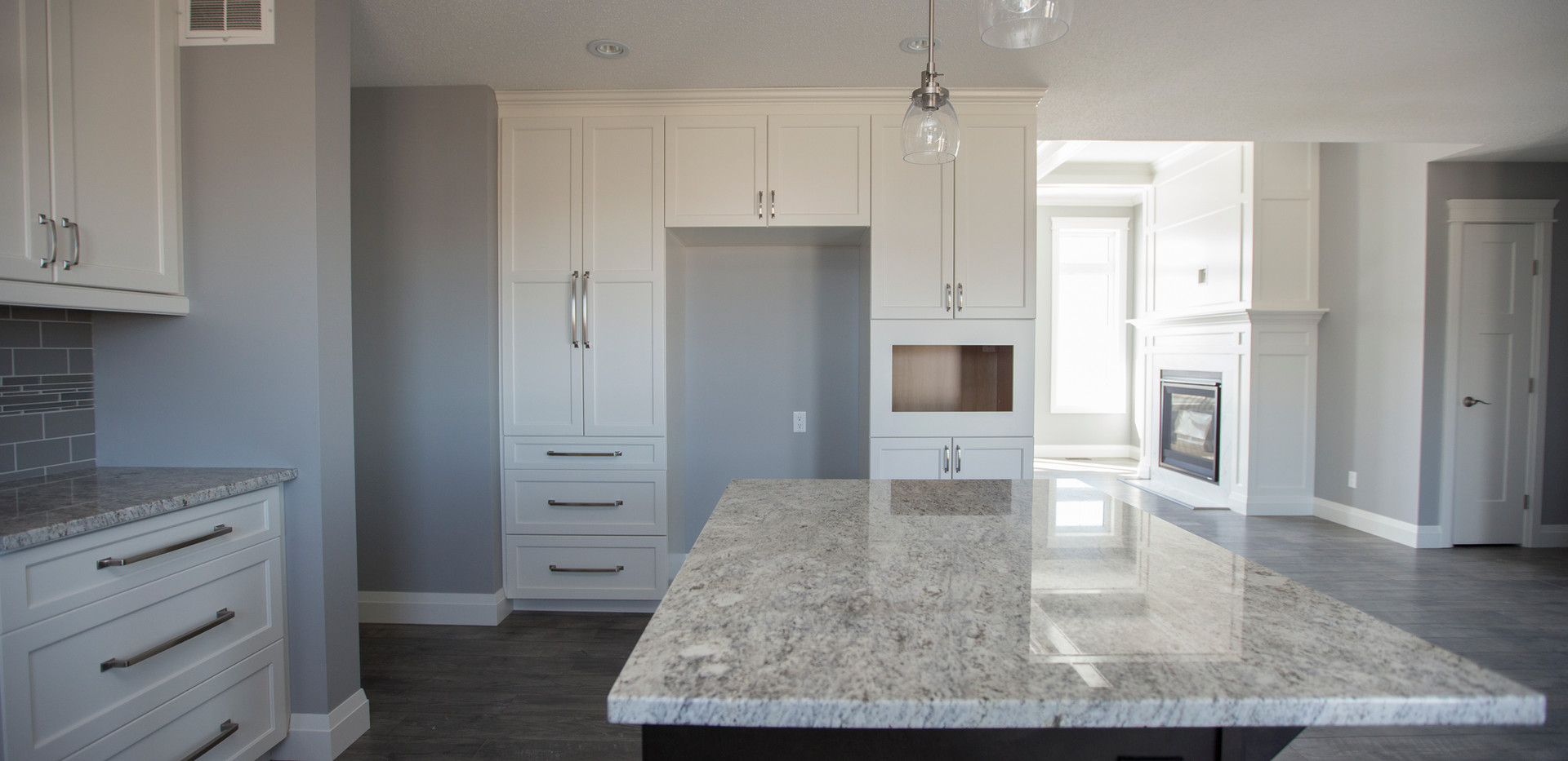 Kitchen with Quartz