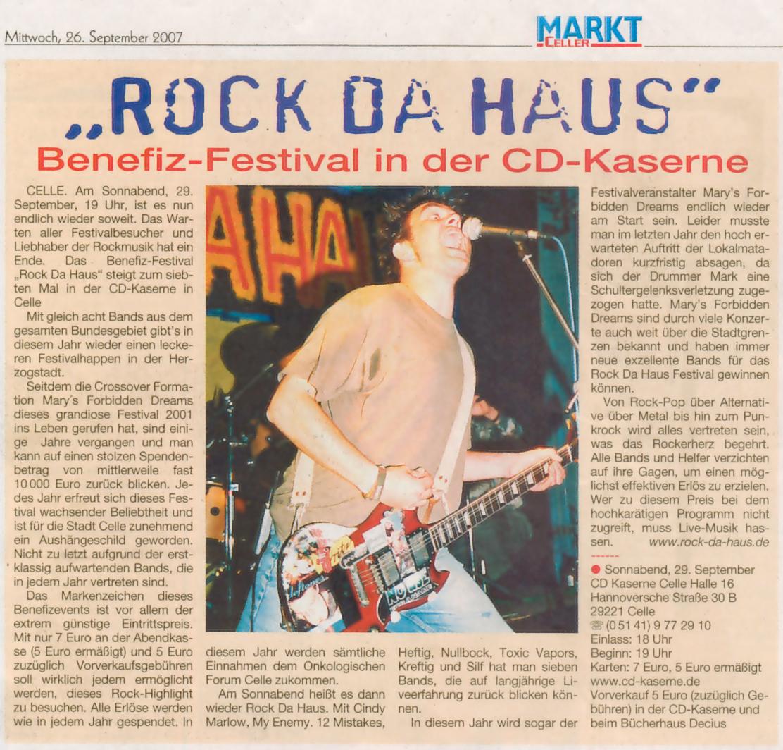 CellerMarkt 26.09.2007