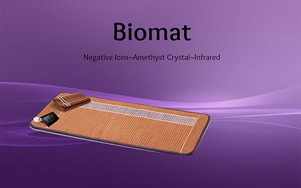 Biomat,far infared,negative ions