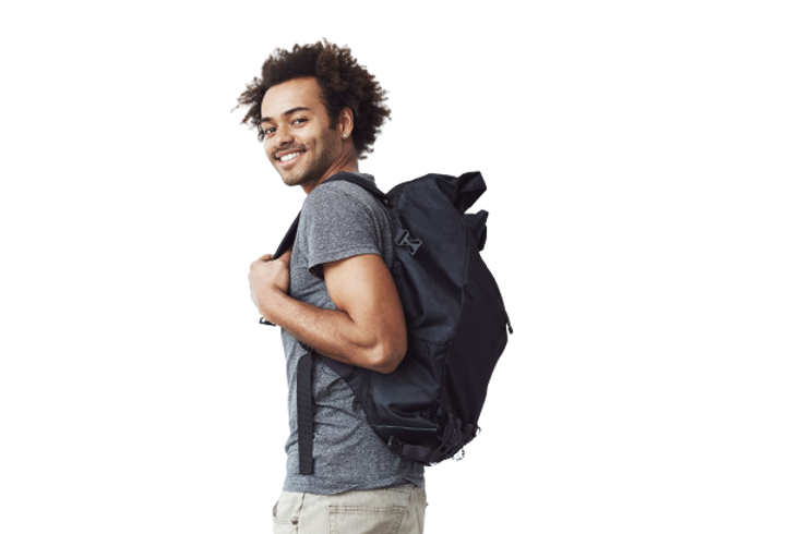 handsome-african-man-with-backpack-smili