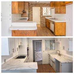 Capitola Before and After Kitchen