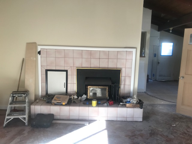 Felton Fireplace Progress