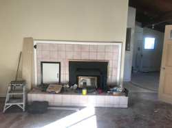 Felton Fireplace Progress