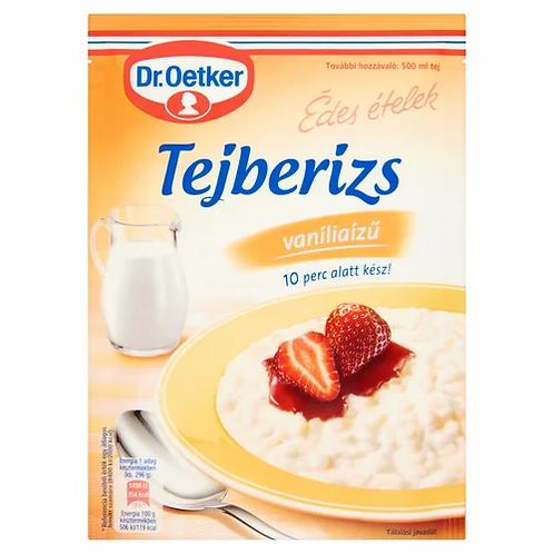 Risgrynsgröt med vaniljsmak / Tejberizs 125g. Dr Oetker Van.