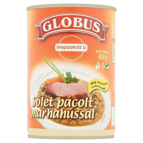 Böngryta med marinerat nötkött / Globus Sólet Pácolt Marhahússal 400g