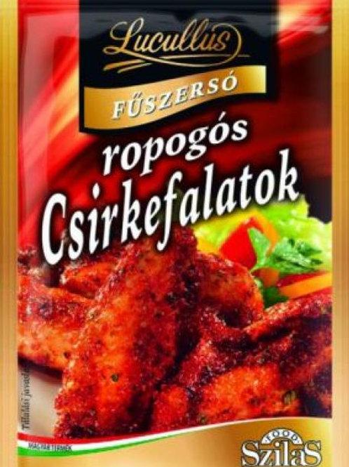 Ropogós csirkefalatok fűszerkeverék 40g.