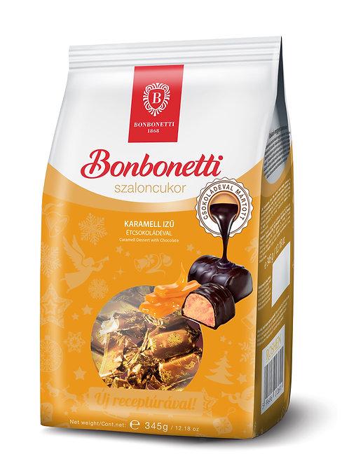 Bonbonetti julgodis 345 g vajkaramellás, étcsokoládéval