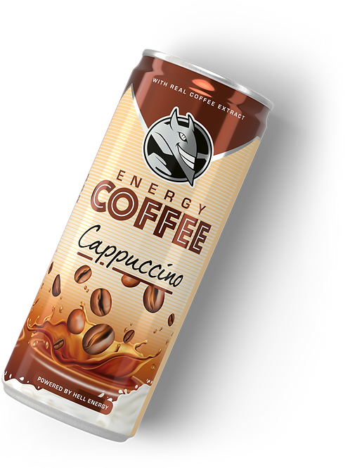 Hell energidryck capuccino 250ml