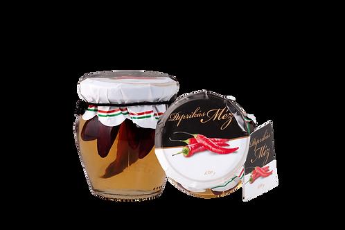 Honung med paprika 130g.