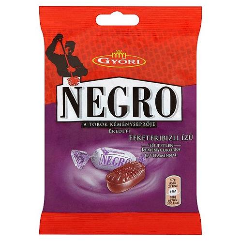 Negro svartvinbärsmak 79g.
