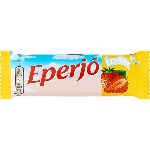 """Eperjó"" chokladbit med jordgubbssmak - 25g."