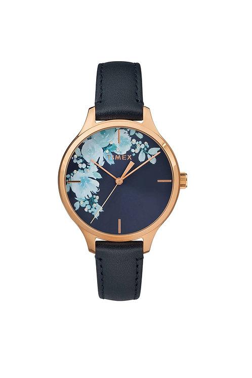 Timex Dama detalles de cristal swarovski en caratula TW2R66700