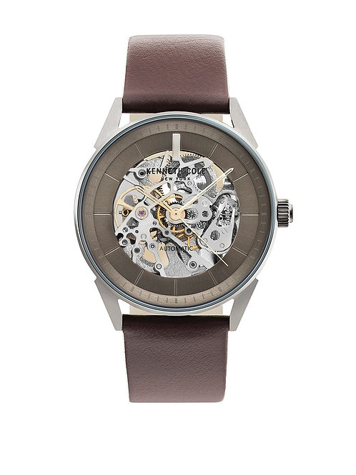 Reloj para caballero Kenneth Cole Auto KC50563002 café