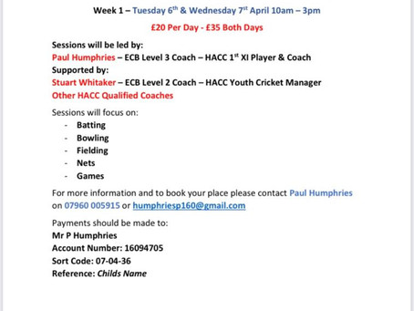 HACC Easter Camp 2021