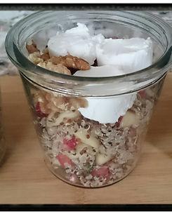 quinoaslaatje met appel en geitenkaas.JP