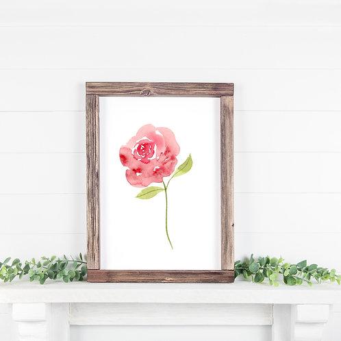 Floral Printable 8x10