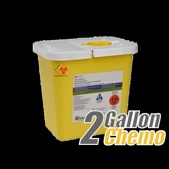 sdmedwaste.com 2 gallon Chemo Container