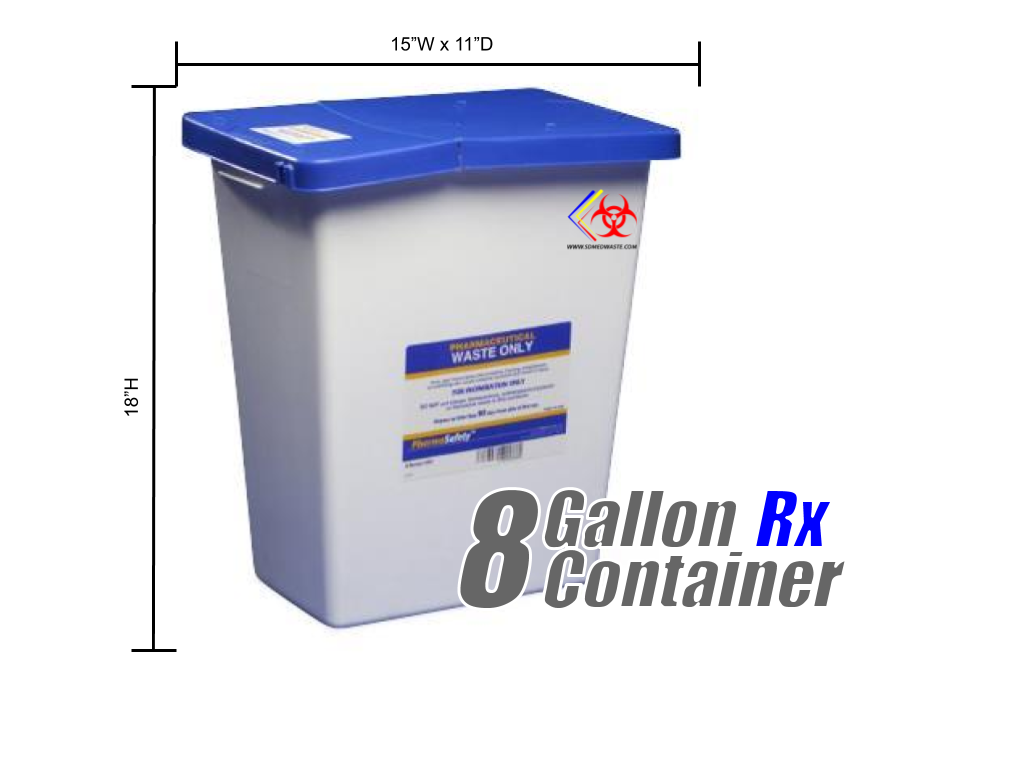 8 Gallon Rx Disposal Container