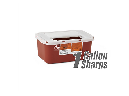 1 Gallon Sharps Container (RED)