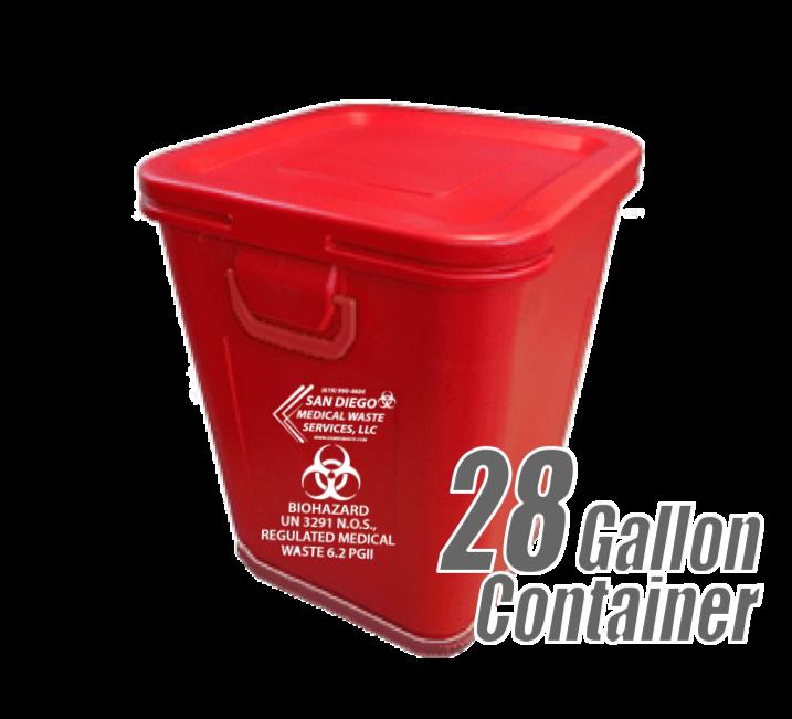 28 Gallon RMW Container