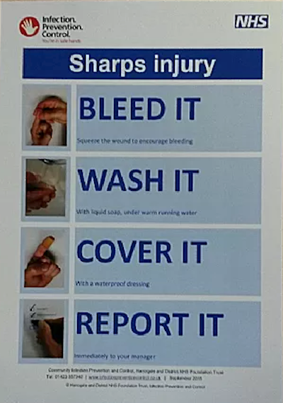 Sharps Injury