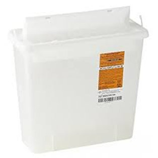5 Quart Pharmaceutical Disposable Container (CLEAR)
