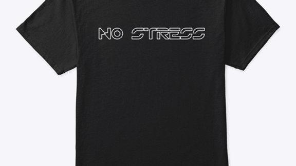 """Tee-shirt """"No Stress"""" - Noir"""