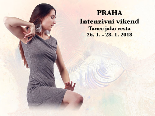 INTENZÍVNÍ TANEČNÍ VÍKEND, PRAHA, 26. - 28. 1. 2018