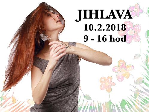 TANEC JAKO CESTA, Celodenní workshop, JIHLAVA, 10. 2. 2018, 9 - 16 h