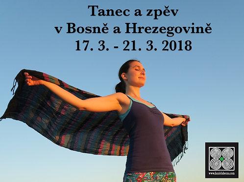 BOSNA A HERCEGOVINA - 17.3. - 21.3. 2018