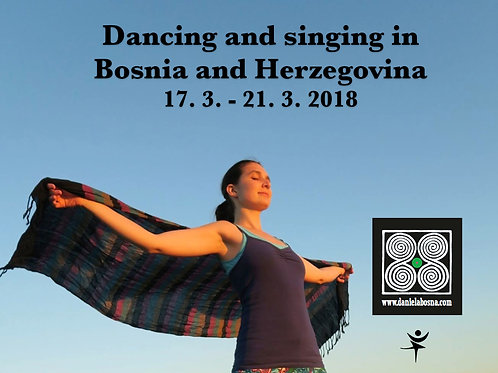 Bosnia and Herzegovina: 17th - 21st March 2018