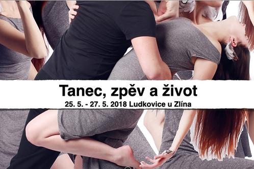 TANEČNÍ POBYT, LUDKOVICE 2018, 25.5. - 27.5. , ZÁLOHA CELÝ VÍKEND