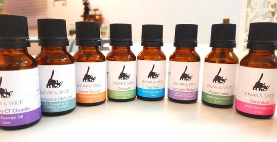 Our collection of essential oils