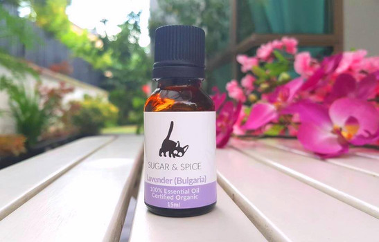 Lavender (Bulgarian) essential oil (organic)
