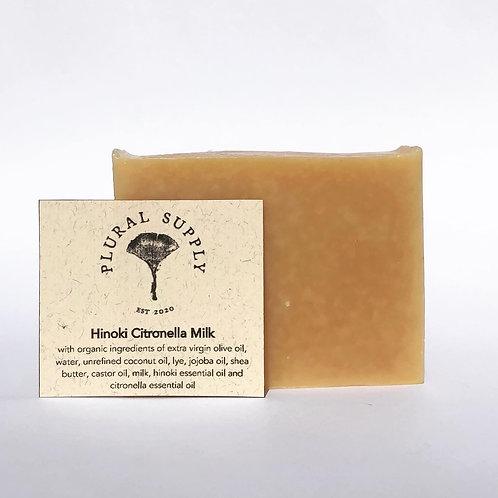 Hinoki Citronella Milk Soap