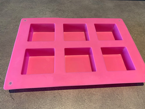 Silicone soap mold (Square small)