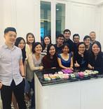 Team bonding workshop of OCBC - Art Soap Crafting Workshop