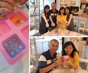 Soap Making Workshop for Family Bonding - Wedding Anniversary