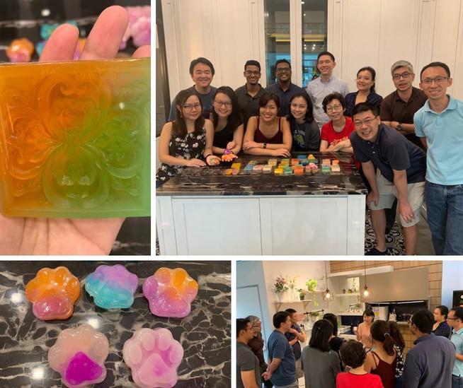 Team bonding workshop of MOH - Art Soap Crafting Workshop