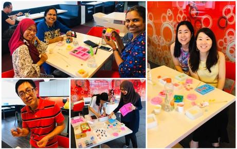 Team bonding workshop @Raffles Institution
