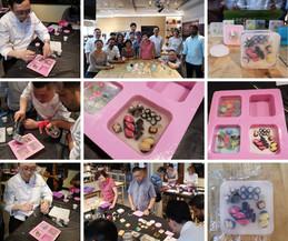 Team Bonding Art Soap Crafting Workshop @Allspice & Circle of Friends