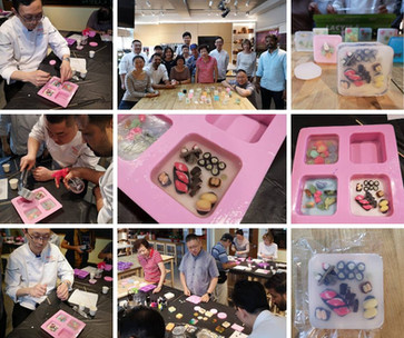 Team Bonding Art Soap Crafting Workshop @Allspice & Circle of Friends